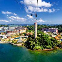 Guida Isola Sentosa Cosa Fare Parco Giochi Singapore